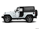 2018 Jeep Wrangler Sahara, driver's side profile with drivers side door open.