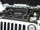 2018 Jeep Wrangler Sahara, engine.