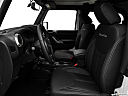2018 Jeep Wrangler Sahara, front seats from drivers side.