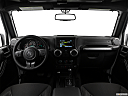 2018 Jeep Wrangler Sahara, centered wide dash shot