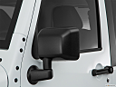 2018 Jeep Wrangler Sahara, driver's side mirror, 3_4 rear