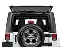 2018 Jeep Wrangler Sahara, rear hatch window open