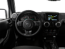 2018 Jeep Wrangler Sahara, steering wheel/center console.