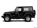 2018 Jeep Wrangler Sport, driver's side profile with drivers side door open.