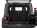 2018 Jeep Wrangler Sport, trunk open.