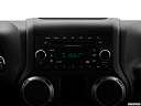 2018 Jeep Wrangler Sport, closeup of radio head unit