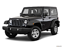 2018 Jeep Wrangler Sport, front angle medium view.