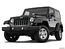 2018 Jeep Wrangler Sport, front angle view, low wide perspective.