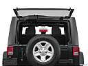 2018 Jeep Wrangler Sport, rear hatch window open