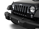 2018 Jeep Wrangler Sport, close up of grill.
