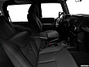 2018 Jeep Wrangler Sport, fake buck shot - interior from passenger b pillar.