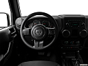 2018 Jeep Wrangler Sport, steering wheel/center console.