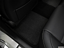 2018 Lexus ES Hybrid ES 300h, rear driver's side floor mat. mid-seat level from outside looking in.