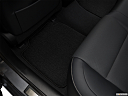 2018 Lexus ES ES 350, rear driver's side floor mat. mid-seat level from outside looking in.