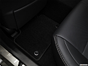 2018 Lexus GS GS 350, rear driver's side floor mat. mid-seat level from outside looking in.