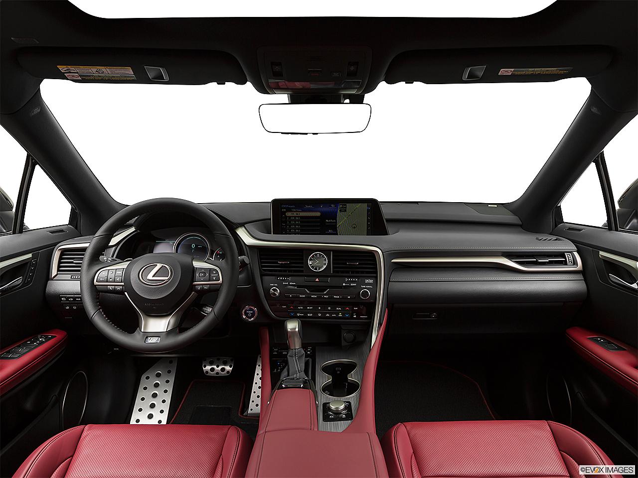 2018 Lexus Rx Hybrid 450h F Sport Centered Wide Dash Shot