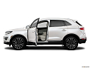 2018 Lincoln MKC Black Label, driver's side profile with drivers side door open.