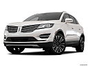 2018 Lincoln MKC Black Label, front angle view, low wide perspective.