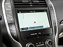 2018 Lincoln MKC Black Label, driver position view of navigation system.