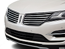 2018 Lincoln MKC Black Label, close up of grill.