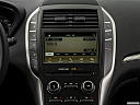 2018 Lincoln MKC Premier, closeup of radio head unit