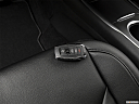 2018 Lincoln MKC Premier, key fob on driver's seat.