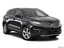 2018 Lincoln MKC Premier, front passenger 3/4 w/ wheels turned.