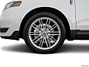 2018 Lincoln MKT Reserve, front drivers side wheel at profile.