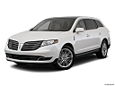 2018 Lincoln MKT Reserve, front angle medium view.