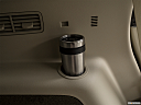 2018 Lincoln MKT Reserve, third row side cup holder with coffee prop.