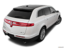 2018 Lincoln MKT Reserve, rear 3/4 angle view.