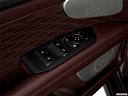2018 Lincoln MKZ Black Label, driver's side inside window controls.