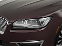 2018 Lincoln MKZ Black Label, drivers side headlight.