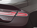 2018 Lincoln MKZ Black Label, passenger side taillight.
