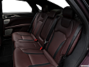 2018 Lincoln MKZ Black Label, rear seats from drivers side.