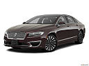 2018 Lincoln MKZ Black Label, front angle medium view.