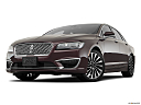 2018 Lincoln MKZ Black Label, front angle view, low wide perspective.