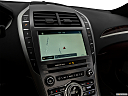 2018 Lincoln MKZ Black Label, driver position view of navigation system.