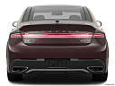 2018 Lincoln MKZ Black Label, low/wide rear.