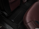 2018 Lincoln MKZ Black Label, rear driver's side floor mat. mid-seat level from outside looking in.