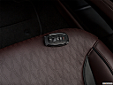 2018 Lincoln MKZ Black Label, key fob on driver's seat.