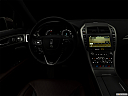 "2018 Lincoln MKZ Black Label, centered wide dash shot - ""night"" shot."