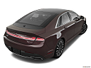2018 Lincoln MKZ Black Label, rear 3/4 angle view.