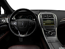 2018 Lincoln MKZ Black Label, steering wheel/center console.