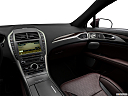 2018 Lincoln MKZ Black Label, center console/passenger side.