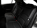 2018 Mazda MAZDA3 Sport, rear seats from drivers side.