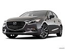 2018 Mazda MAZDA3 Sport, front angle view, low wide perspective.
