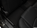 2018 Mazda MAZDA3 Sport, rear driver's side floor mat. mid-seat level from outside looking in.