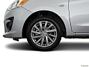 2018 Mitsubishi Mirage G4 ES, front drivers side wheel at profile.