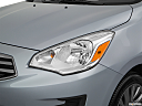 2018 Mitsubishi Mirage G4 ES, drivers side headlight.